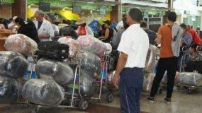 La situación provocó  caos en el aeropuerto. archivo.