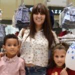 Yarissa Mejía, Henry Batista y Alicia Batista.