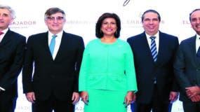 Ventura Serra, Joseph Brichs, Margarita Cedeño, Francisco Javier García y Fernando Gómez.
