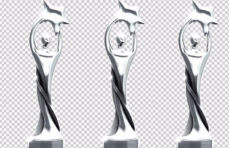 Estatuilla del premio Soberano. Archivo