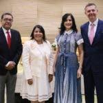 César Herrera, Milagros Ureña Marisol Vicens y Mario García.