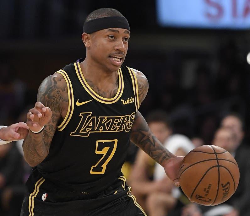 Isaiah Thomas  ya se siente adaptado al equipo Lakers.  AP