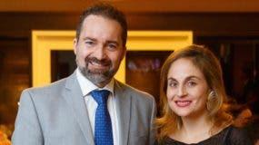 Thomas Sartori y  Alejandra Naranjo.