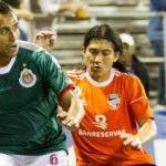 Un aspecto del  primer choque entre Chivas y Cibao FC en  RD.