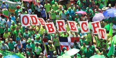 La revelación de los sobornos de Odebrecht fue lo que impulsó las protestas canalizadas en la Marcha Verde.  Archivo