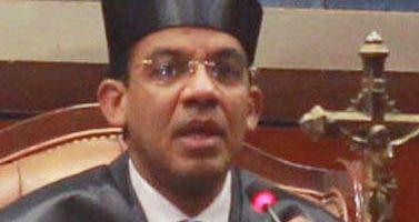 Francisco Ortega, juez de Instrucción Especial de la Suprema Corte de Justicia. Elieser Tapia.