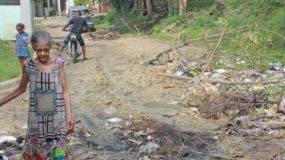 Asfaltado de calles entre principales carencias en barrios que componen Pantoja.  Elieser Tapia.