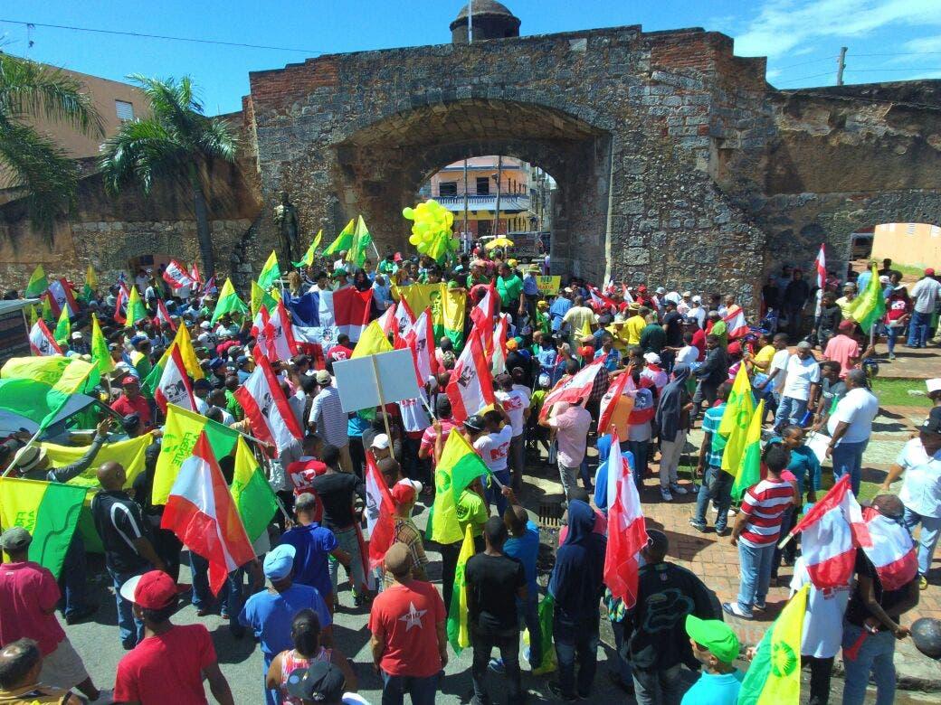 En 202 aniversario de nacimiento de Mella: Frente Amplio marcha por las problemáticas que afectan el país