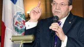 Embajador de República Dominicana en Estados Unidos, José Tomás Pérez.