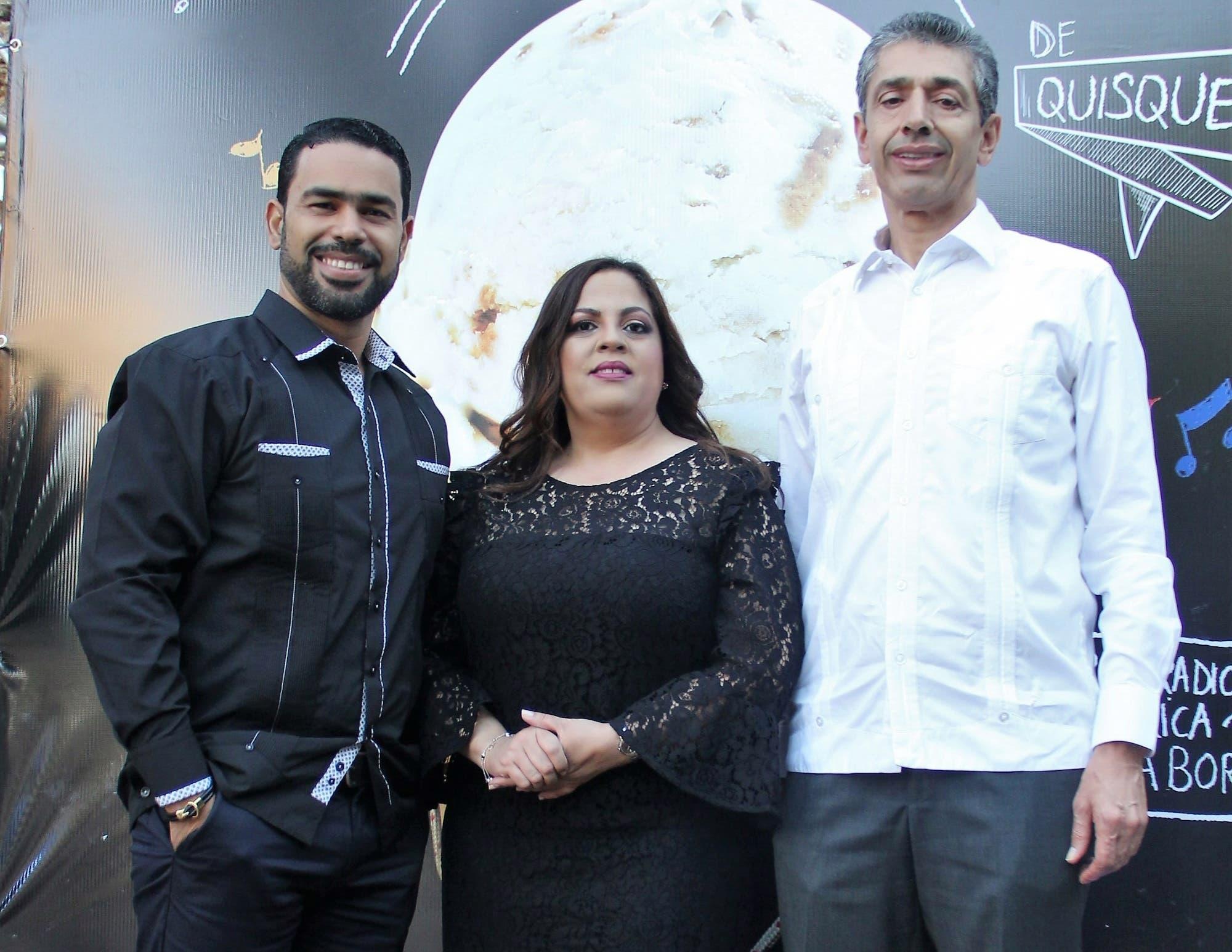 Luis Fernando Enciso, Carolina Pantalón y Roberto Caraballo