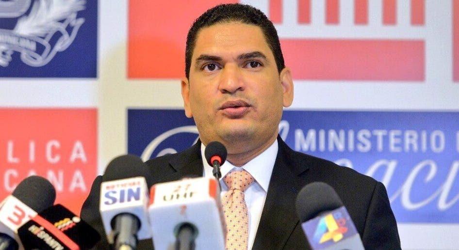 Miguel Medina, se desempeñaba como portavoz del Ministerio de Educación. Foto de archivo.