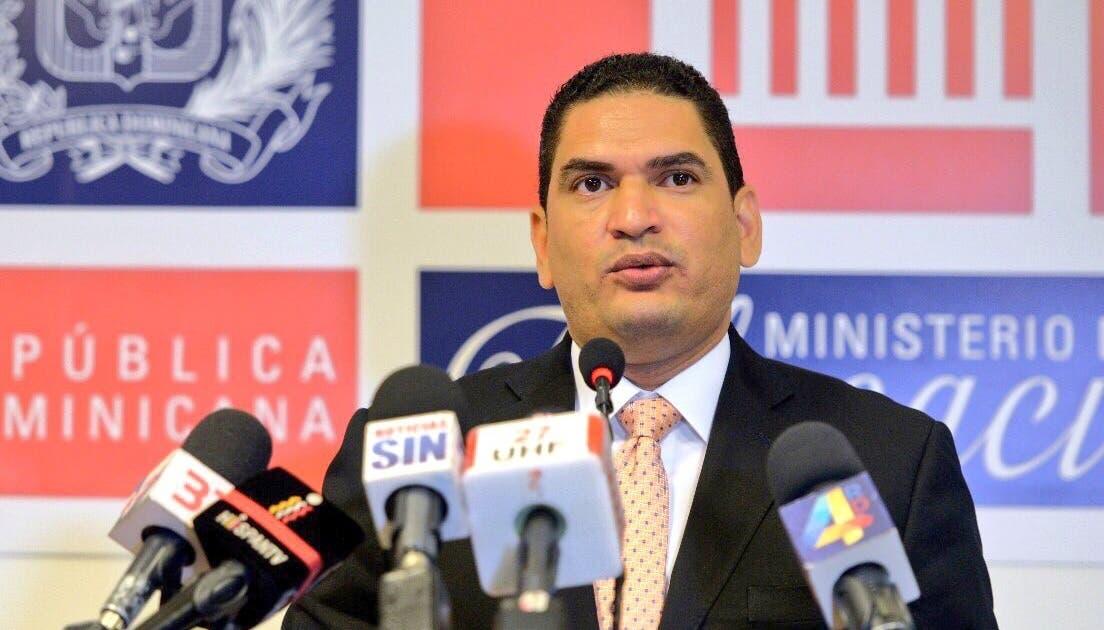 Miguel Medina, portavoz del Ministerio de Educación. Foto de archivo.
