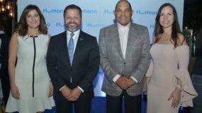 Diomares Musa, Eduardo Cruz, José Zapata y Karla Portorreal.