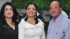 Yomaris García, Yisell Espaillat y José Espaillat.