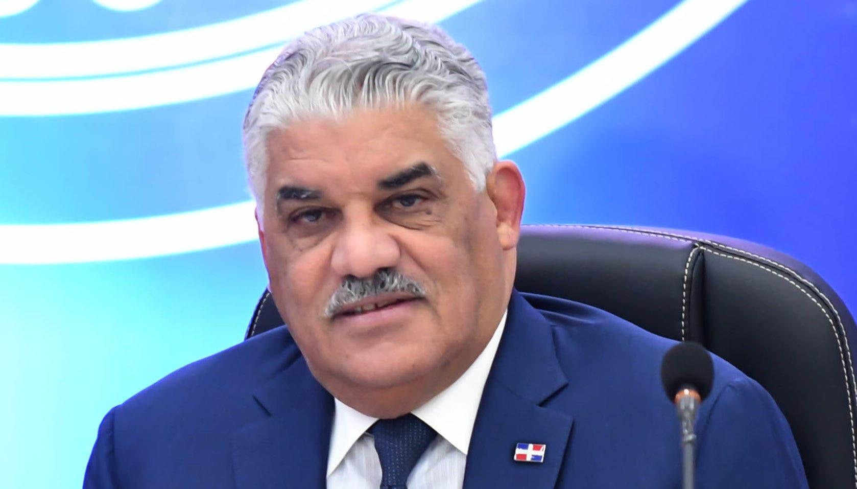Miguel Vargas Maldonado, presidente del PRD.  Archivo