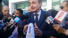 Expresidente del Gobierno español, José Luis Rodríguez Zapatero.