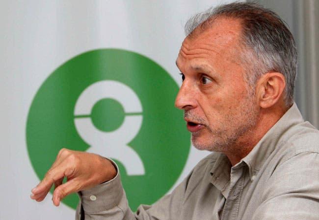 Representante regional de la organización británica Oxfam, Simon Ticehurst.