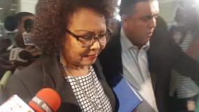 Fiscal Beatriz Familia llega a Procuraduría.