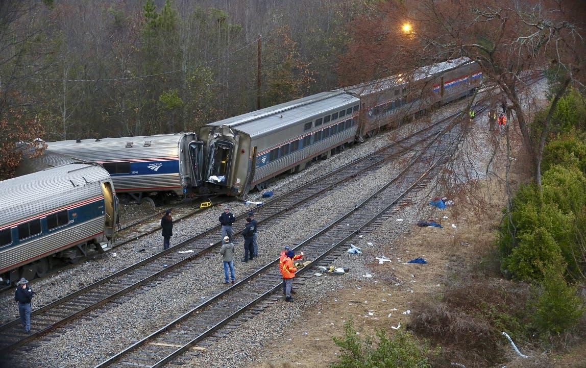 Dos muertos y más de cien heridos tras colisión de trenes en Carolina del Sur