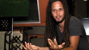 El pais.Vicente García, cantautor dominicano, principalmente de música soul,entrevista para la Esquina Joven.Hoy/Pablo Matos   28-02-2014