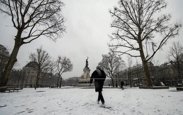Ola de frío ha dejado cuatro muertos en Francia