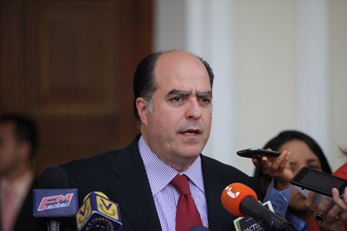 Julio Borges, opositor venezolano. Foto de archivo.