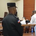 El imputado Arsenio Quevedo expone su defensa ante los jueces.