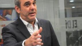 Luis Abinader, precandidato presidencial del PRM.