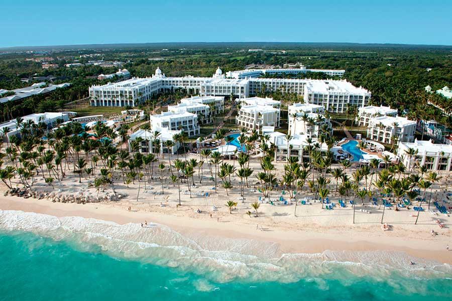 Uno de los hoteles de la cadena Riu en Bávaro, Punta Cana.