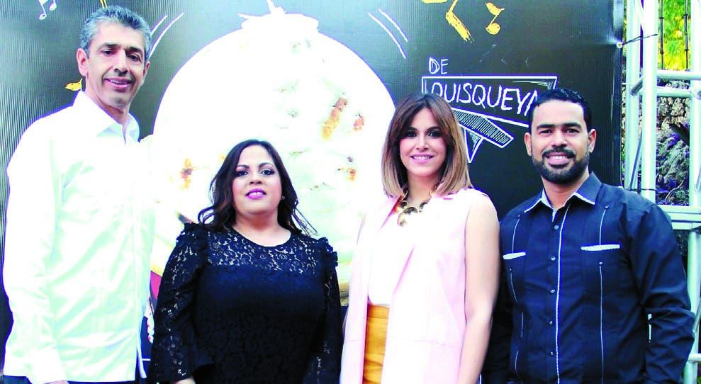 Luis Fernando Enciso, Carolina Pantaleón, Pamela Sued y Roberto Caraballo.