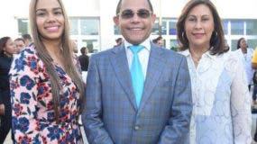 Maria Marte, Rafael Ovalles y Edilí Rodríguez.