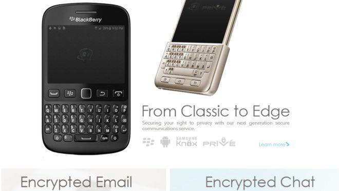 Phantom Secure ofrece teléfonos seguros para comunicaciones cifradas que, según el FBI, fueron usados por narcotraficantes. Foto: Phantom Secure