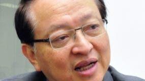 Valentino Tang, embajador de Taiwán.  archivo