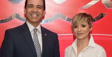 Ricardo García  y Rocío Rivera.