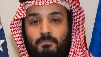 Príncipe saudita Mohamed bin Salmán.