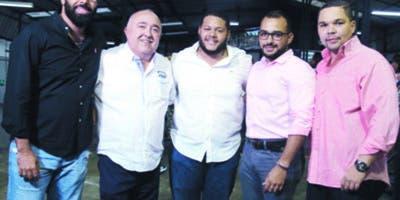 Fernando Silié, Martín Guillén, Xavier de la Cruz, Miguel Concepción y Víctor Álvarez.