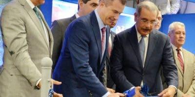 El presidente Danilo Medina asistió a la apertura.   F. de la Cruz