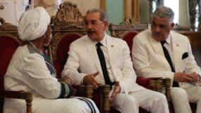 El Presidente recibió nuevos diplomáticos. Fuente  Externa