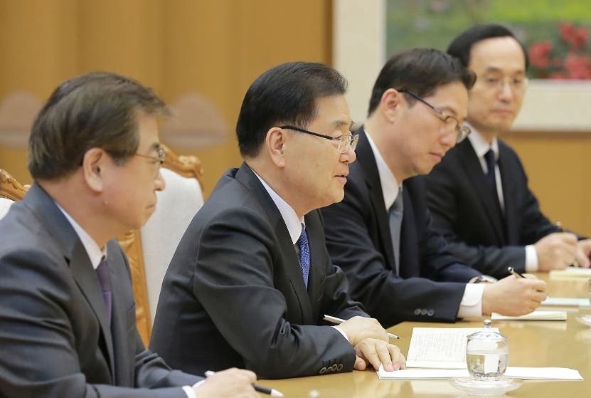 Una comisión mixta se reunió en Corea del Norte. AP