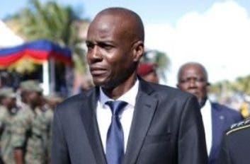 Un sector de la oposición exige la renuncia del presidente Jovenel Moise.  AP/archivo.