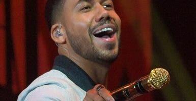 El cantante de bachata Romeo Santos.  Archivo