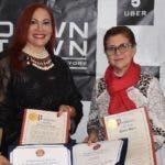 Mirtha Bergés, Marisol Henríquez, Diany Mota y Carolina Beaumont.