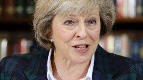 Theresa May anunció   la expulsión de los diplomáticos.