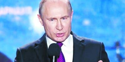 El presidente Vladimir Putin reniega de las sanciones.