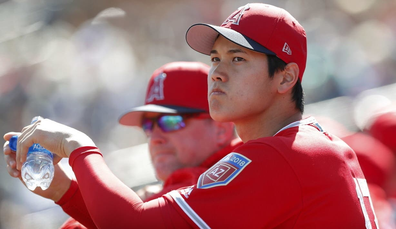 El japonés  Shohei Ohtani está proyectado para revolucionar el béisbol de Grandes Ligas.  ap