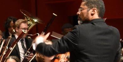 La orquesta de  Hamburgo.