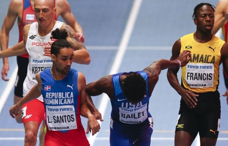 Descalificación Luguelín lo aleja podios internacionales