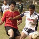 Encuentro entre equipos de la Liga de fútbol de RD.