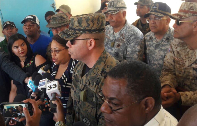 Autoridades civiles y militares ofrecieron detalles luego de la reunión.