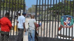 El flujo de haitianos se redujo considerablemente en el punto fronterizo de Pedernales tras los conflictos.  Napoleón marte.